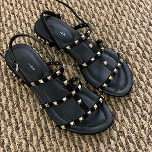 Marc Fisher studded sandal size 7
